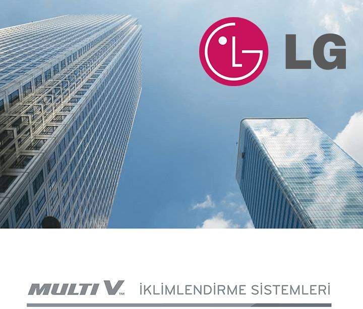 LG VRF Multi V Klima Kataloğu