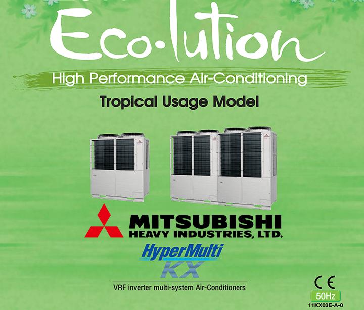Mitsubishi Heavy VRF Tropikal Seri Klima Kataloğu