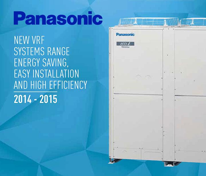 Panasonic VRF Klima Kataloğu