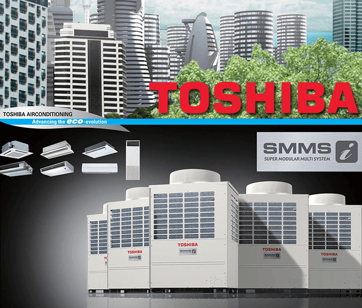Toshiba VRF Klima Kataloğu